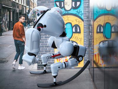 01 Xplorer visuals render londonagency london illustration digitalart design cinema4d characterdesign c4d 3d