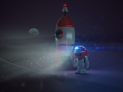 Astronaut London london-agency arnold render guille-amengual concept-art character-design character visuals design cinema4d render londonagency london digitalart characterdesign illustration c4d 3d