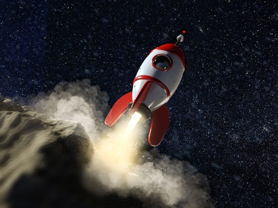 In To The Moon 5 guille-amengual visuals arnold render cinema4d render london londonagency digitalart characterdesign illustration c4d 3d