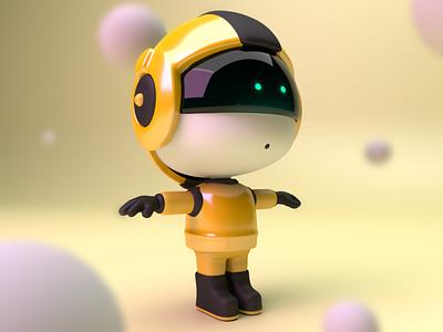 AstroBoy motiongraphics conceptart characterdesignchallenge arnold render design london digitalart characterdesign c4d 3d