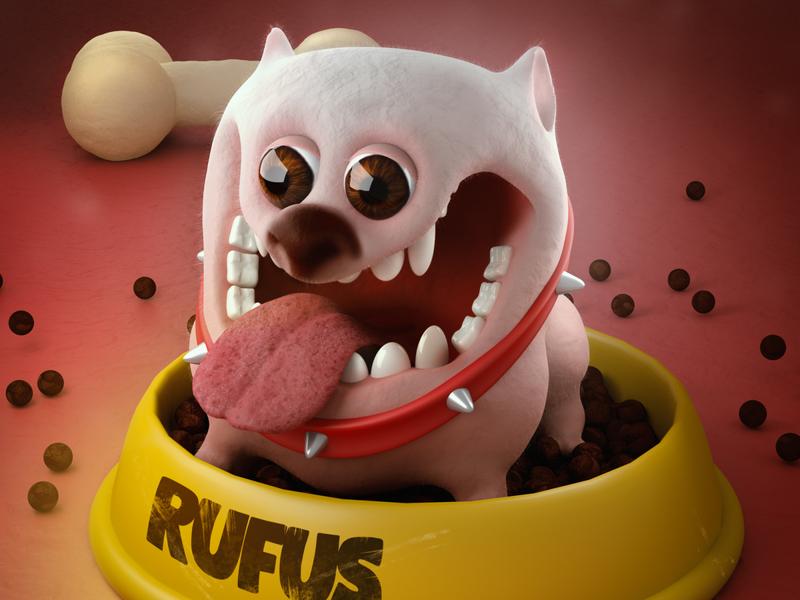 Rufus,  the little rascal. character arnold render design visuals render digitalart characterdesign illustration c4d 3d