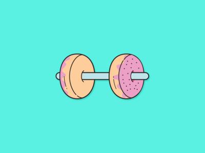 Donut Dumbbell