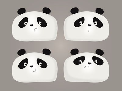 Panda Faces