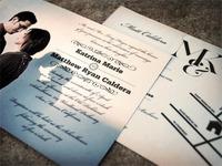 Matt & Katrina's Wedding Invites