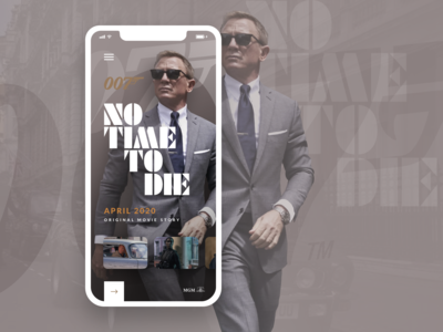 007: NTtD movie app cover concept