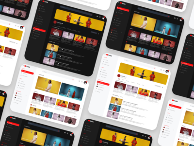 Youtube Redesign youtube redesign challenge xd water ux ui iphone download design demo adobe