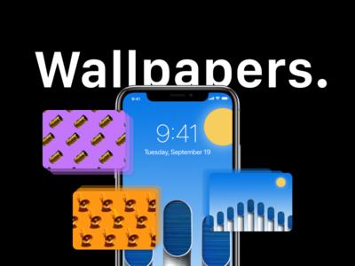 iPhone X Wallpapers kit app adobe demo design download iphone ui ux wallpaper xd