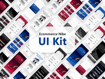 Ecommerce Nike UI Kit ecommerce adobe concept kit app adobe iphone xd download design demo ux ui