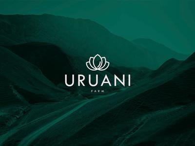 Uruani Farm Branding farm branding ux ui xd web app
