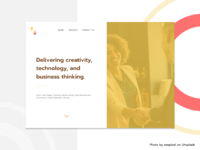 Web Agency Home Page