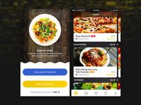 Food ordering iOS