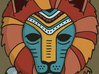 Liongirl detail