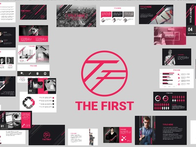 Free Powerpoint Templates The First