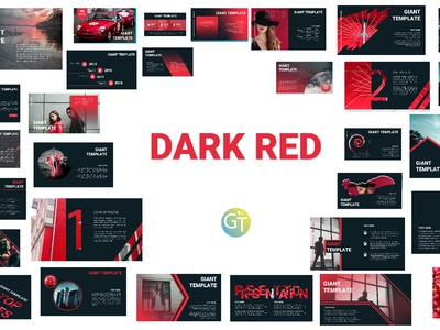 Dark Red - Free Powerpoint Template