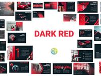 Dark Red - Free Powerpoint Template