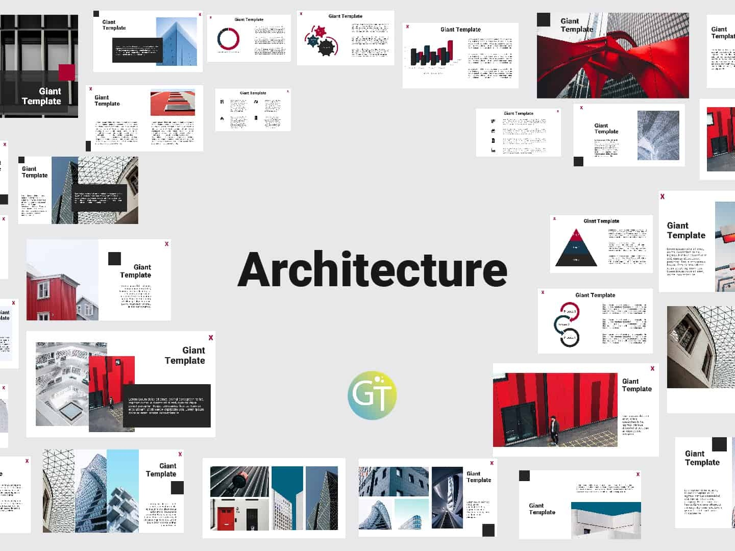 Architecture Free Powerpoint Template By Giant Template On