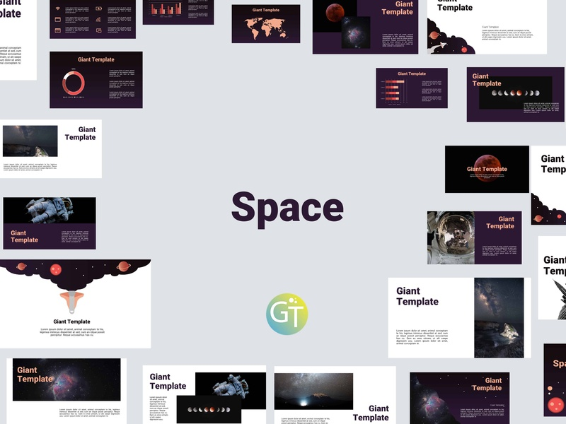 Free Download Space Powerpoint Template By Giant Template On