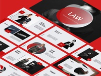 LAW - Legal Attourney & Lawyer Powerpoint Presentation Template