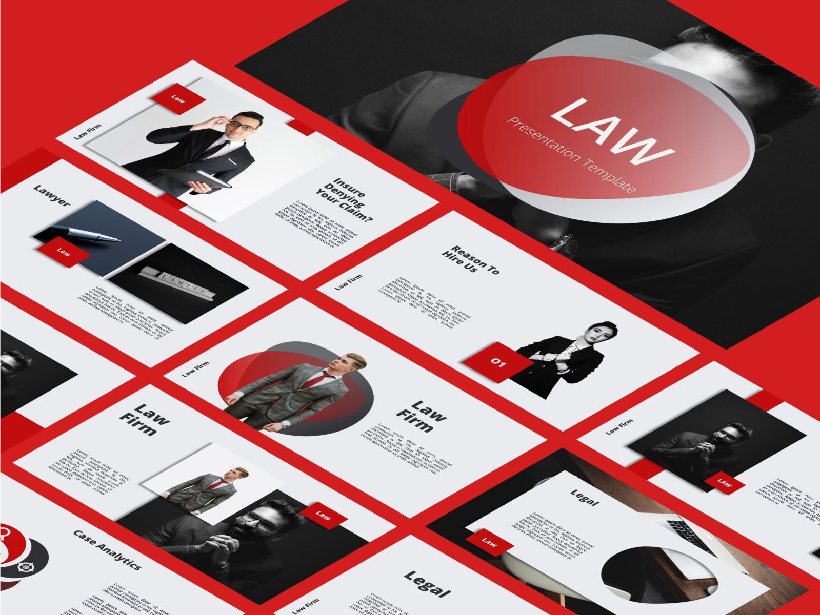 Law Legal Attourney Lawyer Powerpoint Presentation