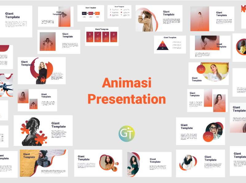 Download Free Template Powerpoint With Animasi By Giant