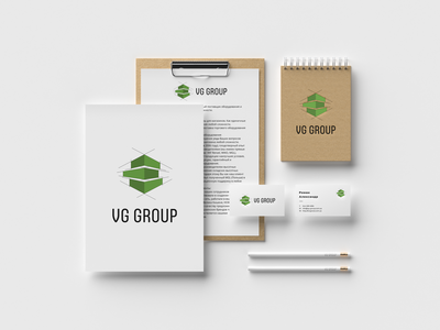 """VG Group"" Logo Design"