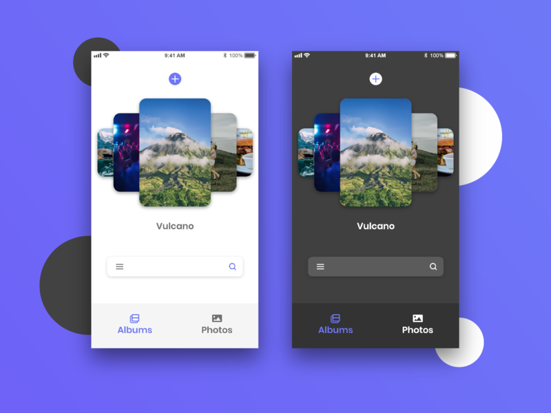 Photo gallery app nightmode purple app photo ui  ux design madewithadobexd gallery photoshop adobe illustrator adobe xd