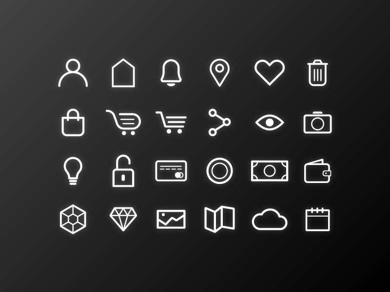 Simplicon buy payment black line icon simple drawing mark vector illustration ui web icons icon
