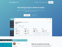 GrowRecruit Website Design