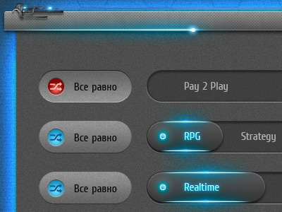 GameSeeker.ru game web-design site gaming tech