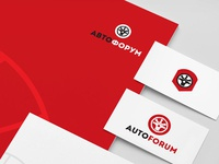 Autoforum branding corporate style