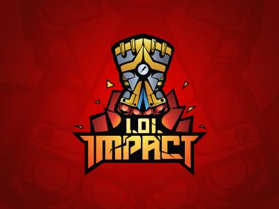 LoL Impact logo logo league of legends