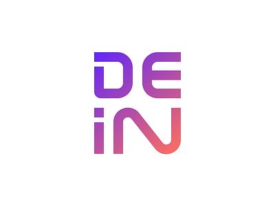 Dein instagram logo design web