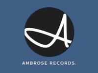 Logo for record company