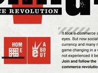 Ecompunk Website Dribbble