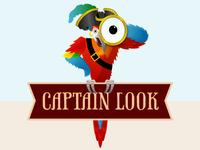 Captainlook Logo Dribbble