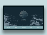 Landing page for Scallop Restaurant