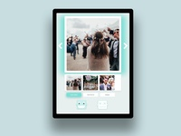 One page App for Photo booth