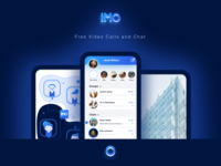 IMO app - video calls and chats