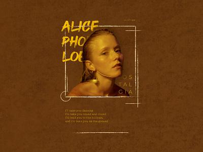 Alice Phoebe Loe collagedesign digitalcollage collage art collages songwriter singer alicephoeboeloe collagephoto photoshop editorial creative design design collageart editorial layout