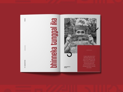 Indonesia Independence Day Magz independence independenceday editorial design print layout magazine design print design design editorial adobe indesign editorial layout creative design