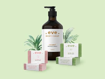 Eve Soap Packaging creative agency creative design caramel greentea minimalism natural cosmetics naturalistic soap soap packaging packaging design packaging packagedesign