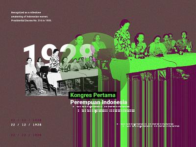 First Indonesian Women's Congress - Collage Art liberator freedom congress indonesian collage art collagephoto photo collage collage print design collageart editorial layout creative design