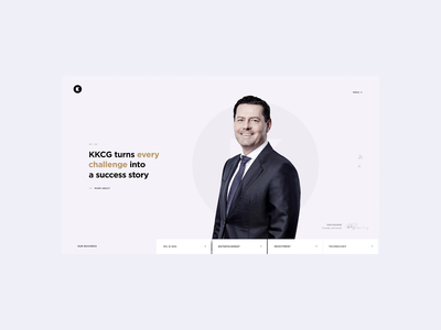 Corporate B2B Website flat 2d b2b gold blackletter web black animation 2020 trend white websites website ux ui branding 2020 business