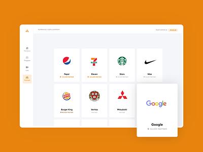 Online events circular minimal uxui interfaces webapp app flat design orange interface flat typography design web ui white websites ux branding black website