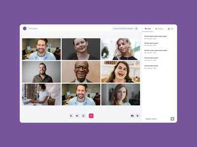 Online video calls for the deaf dashboad registration signin signup typography illustration websites ui ux design purple logo video straming videocall online dashboard ui website webapp dashboard deaf