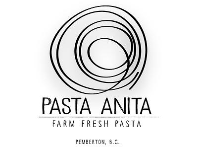 Pasta Anita graphic design logo