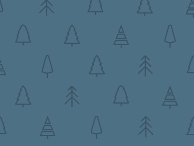 Tree Pattern background trees pattern graphic design