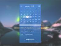 Calendar App Design Concept