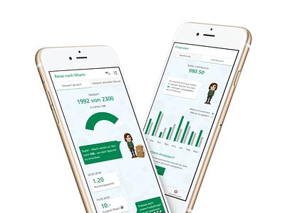 Finance Savings App bank mobile android ios finance app savings