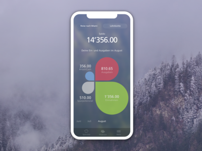 #HäshCash – Savings App by SGKB pfm budget swiss sgkb ios android app saving banking mobile